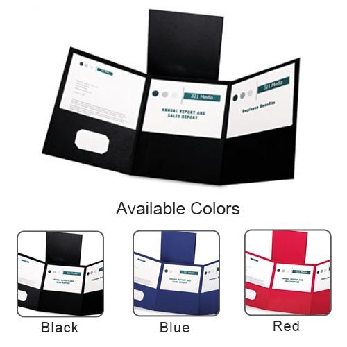 Oxford Tri-Fold Pocket Folder - 20pk (ESS-TFPF) Image 1