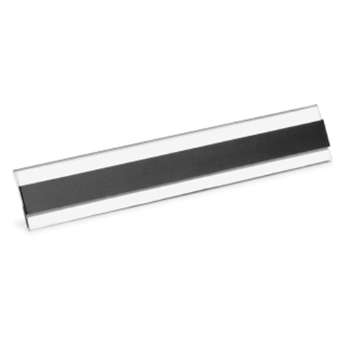 "Pan Co Panter Panco Clear Magnetic Tube 1"" x 6"" Label Holders - 10pk (PCIPCM1) Image 1"