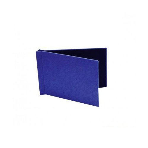 "Pinchbook 4"" x 6"" Landscape Royal Blue Cloth Photobook Hardcovers - 10pk (8546RBCLLNW) Image 1"