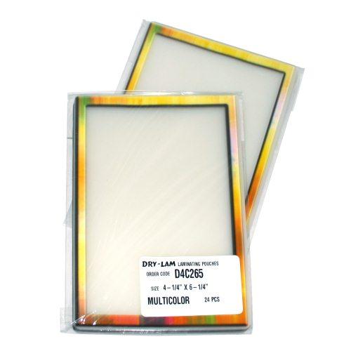 """Drylam Pizzazz Pouch 4.25"""" x 6.25"""" Classic Frames MultiColor-24 pk (DL-D4C265) - $7.89 Image 1"""