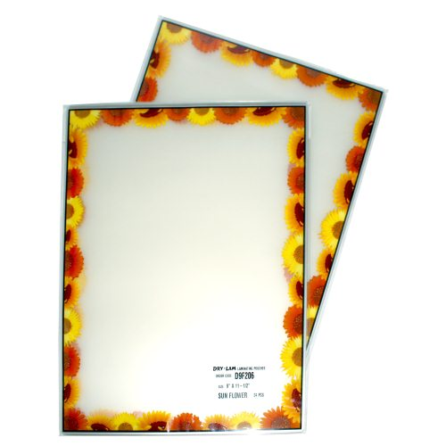 Clear Drylam Pizzazz Laminating Pouches Image 1