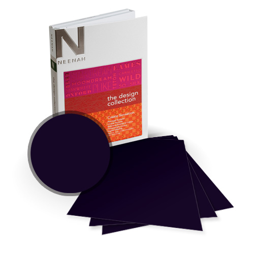 "Neenah Paper PLIKE Blue Plastic Like Soft Touch 12"" x 18"" Card Stock - 4 Sheets (NPCBL534-G) Image 1"