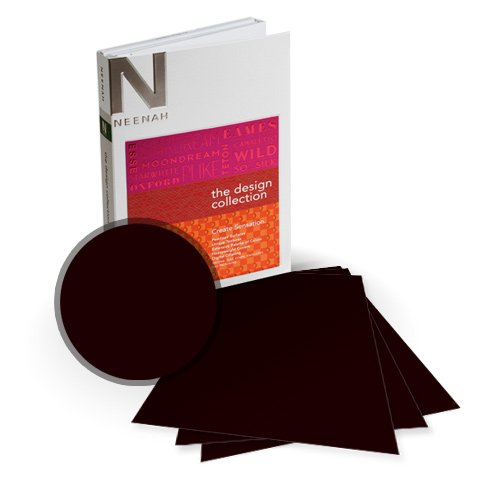 "Neenah Paper PLIKE Brown Plastic Like Soft Touch 8.75"" x 11.25"" Card Stock - 8 Sheets (NPCB534-I) - $10.49 Image 1"