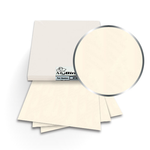 Poison Ivory 9 x 11 Index Allowance Metallics Covers With Windows - 50 Sets (MYMC9X11PIW) Image 1