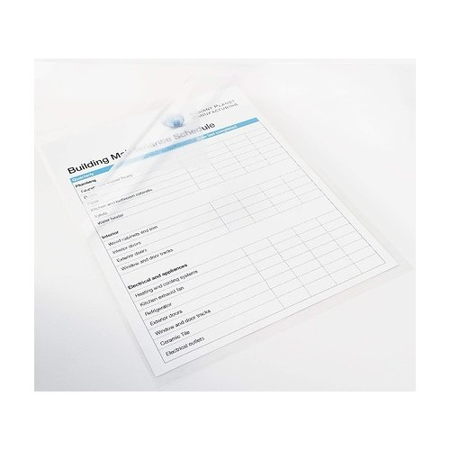 "Polar Pressure Sensitive Self-Laminating Sheets - 3mil 24.5"" x 36.5 Clear Matte 10pk (80AGSU2436) - $85 Image 1"