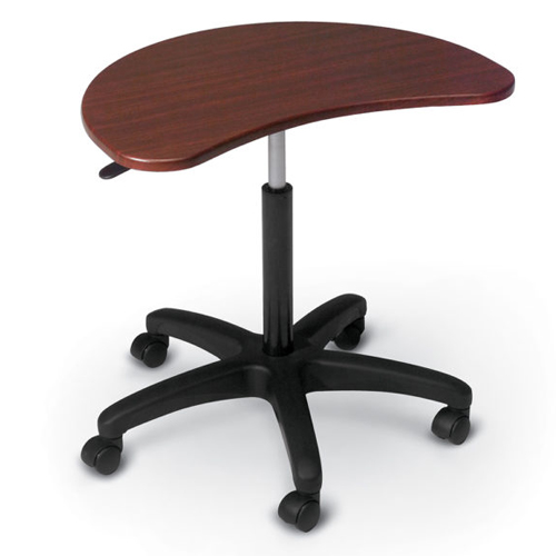 Essentials by MooreCo POP Mobile Laptop Stand (Mahogany Top) (ES-48752) Image 1