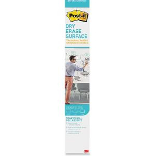 "Post-It Dry-Erase Surface 24"" x 36"" White Film Roll (MMMDEF3X2) Image 1"