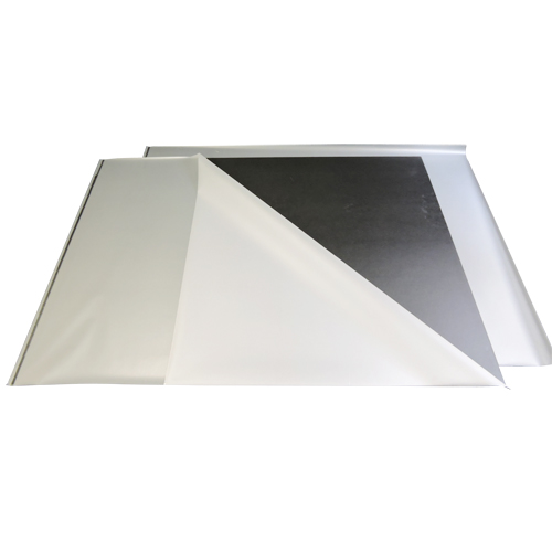 "Black 40"" x 60"" Heavy Duty 1/4"" Thick Matte Pouch Laminating Boards - 10pk (MYB62329HD) Image 1"