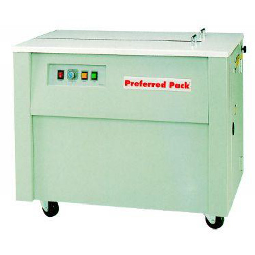 Packaging Products Preferred Pack Semi-Automatic Table Top Strapping Machine with Closed Cabinet (SP-1), Brands Image 1