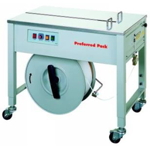 Packaging Products Preferred Pack Semi-Automatic Table Top Strapping Machine with Open Cabinet (SP-4) Image 1