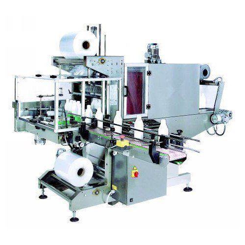 Truline Preferred Pack Right Angle Fully Automatic Sleeve Wrapper with Attached Tunnel (SFE-1500AU) Image 1