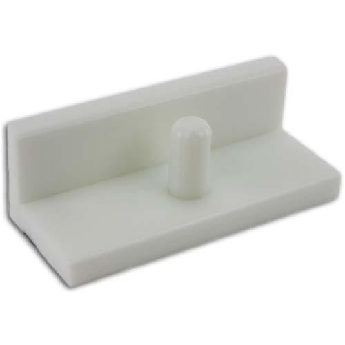 Premium 26 Inch White Paper Cutter Jogging Block - 6 Inch High (JH-JB626)