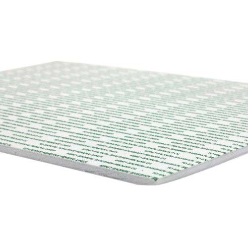"White 3/16"" Foam Core Repositionable Adhesive 40"" x 60"" Mounting Boards - 25pk (550463R) - $601.1 Image 1"