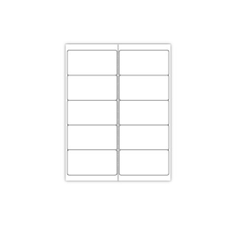 Print your Own Up Adhesive Labels Sheets Image 1