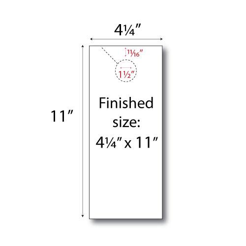 Design Your Own Door Hangers: Print Your Own 2-up Door Hangers - 250pk
