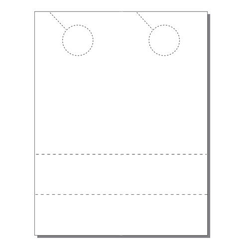 Zapco Print Your Own 2-up Door Hangers with 2 Coupons - 250pk (ZAPDH216)