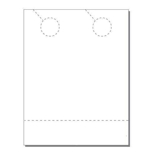 Zapco Print Your Own 2-up Door Hangers with Coupon - 250pk (ZAPDH211)