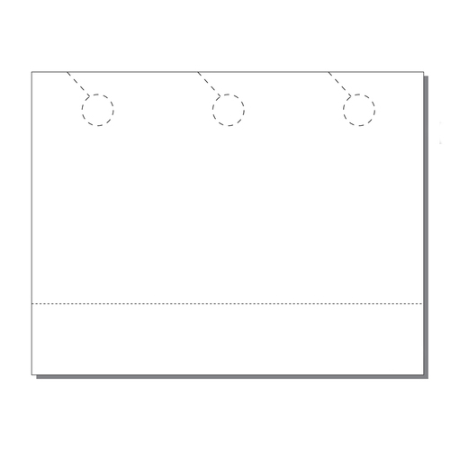 Zapco Print Your Own 3-up Door Hangers with Coupon - 250pk (ZAPDH218)