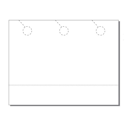 Zapco Print Your Own 3-up Door Hangers with Coupon - 250pk (ZAPDH218), Zapco brand Image 1