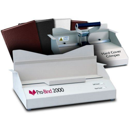 Pro Bind 2000 Thermal Binding Machine Image 1