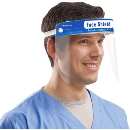 Protective Face Shield - 10/Pack (PPDFSHLD) Image 1