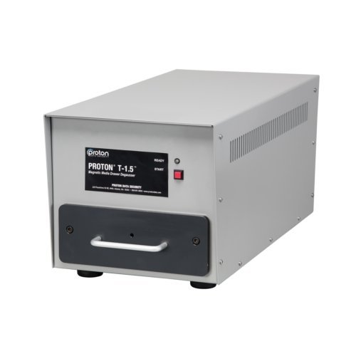 Proton T-1.5 Automatic Drawer-Style Hard Drive and Magnetic Media Degausser (PROTONT-1.5)