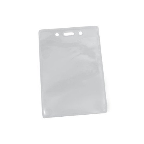 PureClear PVC-Free Badge Holder with Slot and Holes - 100pk (MYPCBHSH), MyBinding brand Image 1