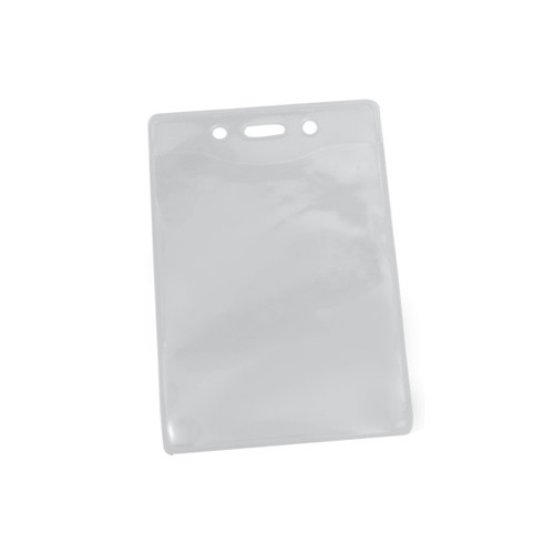 PureClear PVC-Free Vertical Badge Holder with Slot and Holes - 100pk (1815-1124), MyBinding brand Image 1