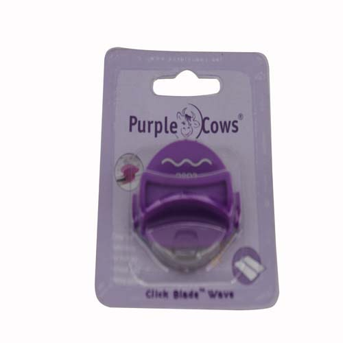 Purple Cows Click Blade - Short Wave (PC-1044) - $2.81 Image 1