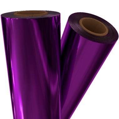 "Purple Metallic 24"" x 500' Laminating / Toner Fusing Foil (PRP-90-24), Pouches Image 1"