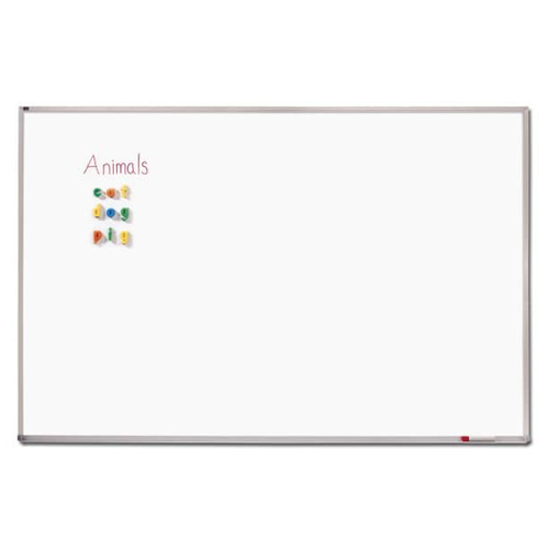 Quartet 2' x 3' Standard Melamine Classroom Whiteboard (QRT-EMA203) Image 1