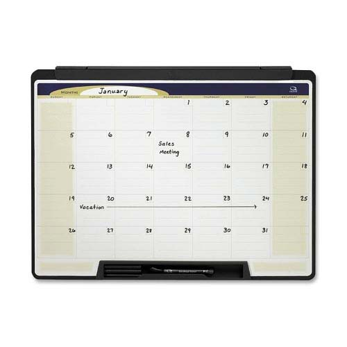"Quartet 24"" x 18"" Motion Cubicle Calendar Whiteboard (QRT-MMC25) Image 1"