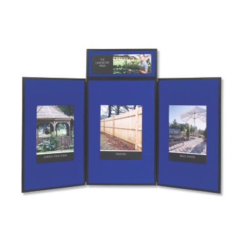 Quartet 3-Panel Exhibition Display System (QRT-SB93513Q) Image 1