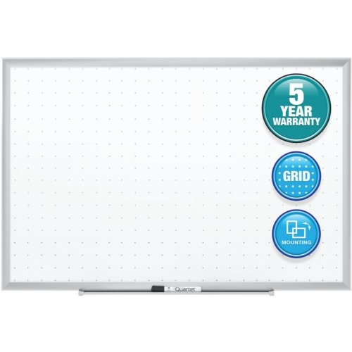 Quartet 6' x 4' Classic Total Erase Whiteboard with Aluminum Frame (QRT-STE537) Image 1