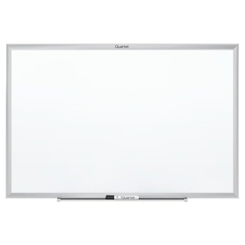 Quartet 3' x 2' Standard Magnetic Whiteboard with Silver Frame (QRT-SM533) Image 1