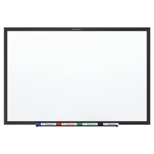 Quartet 3' x 2' Standard Magnetic Whiteboard with Black Frame (QRT-SM533B) Image 1