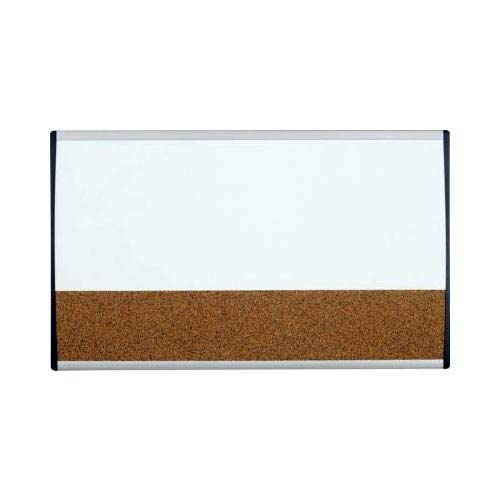 "Quartet 30"" x 18"" ARC Magnetic Combination Board (QRT-ARCCB3018) Image 1"