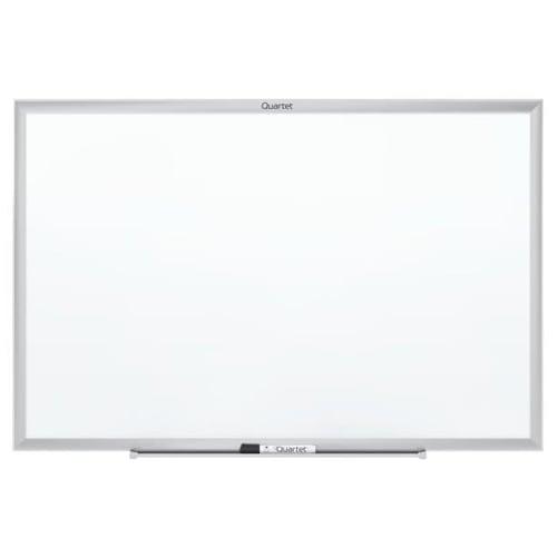 Quartet 4' x 3' Standard Magnetic Whiteboard with Silver Frame (QRT-SM534), Quartet brand Image 1