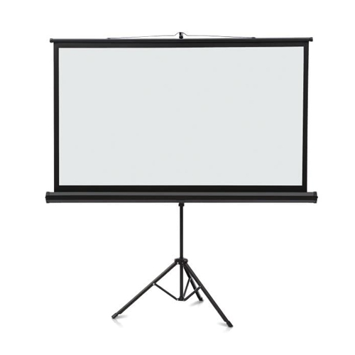 "Quartet 52"" x 92"" Wide Format Projection Screen - Tripod Base (QRT-85568) Image 1"