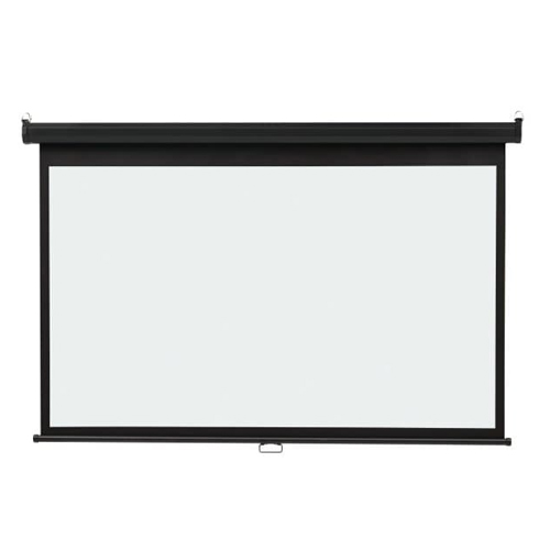 "Quartet 52"" x 92"" Wide Format Wall Mount Projection Screen (QRT-85572) Image 1"