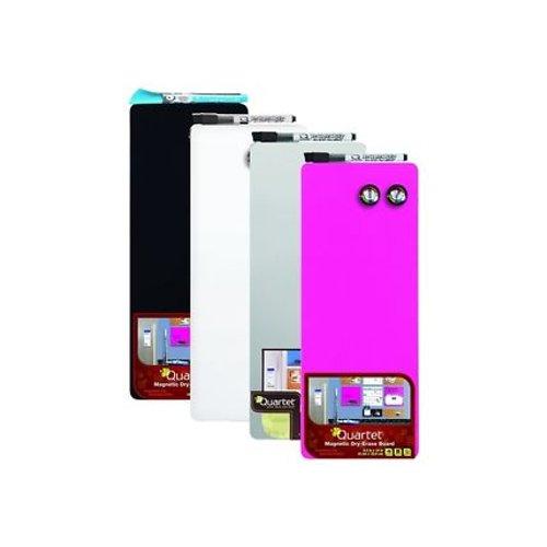 """Quartet 5.5"""" x 14"""" Magnetic Dry-Erase Frameless Board (Assorted Color) (90223) Image 1"""