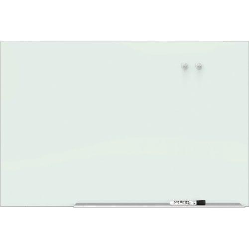 "Quartet 50"" x 28"" Element Magnetic Glass Dry-Erase Board with Aluminum Frame (QRT-G5028E), Boards Image 1"
