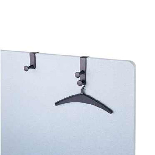 "Quartet 6-7/8"" Double Post Over The Panel Hooks (QRT-20702) Image 1"