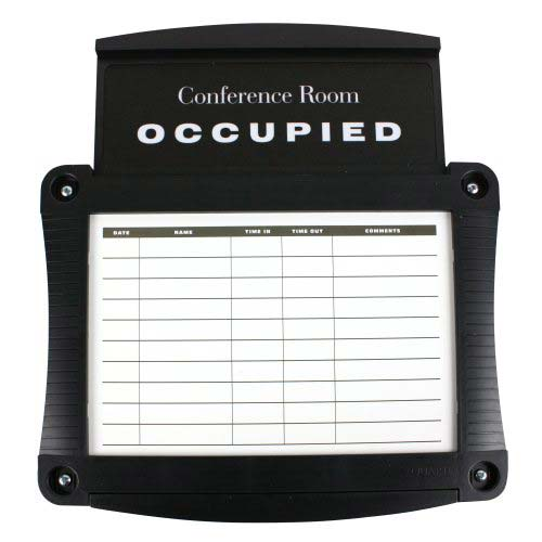 Quartet Conference Room Scheduler Sign (QRT-995) Image 1