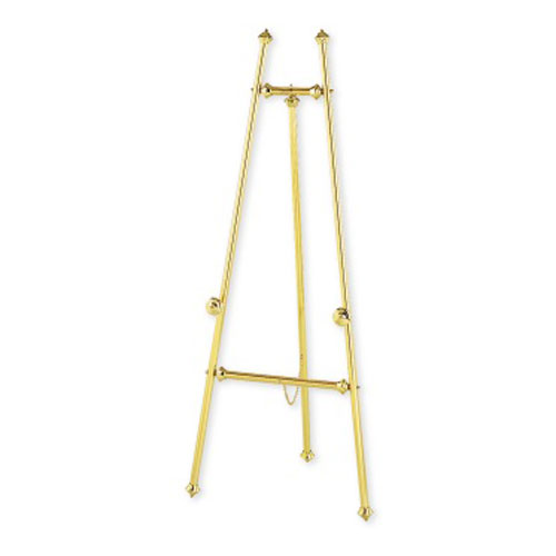 Quartet Decorative Brass Easel (QRT-30E) Image 1