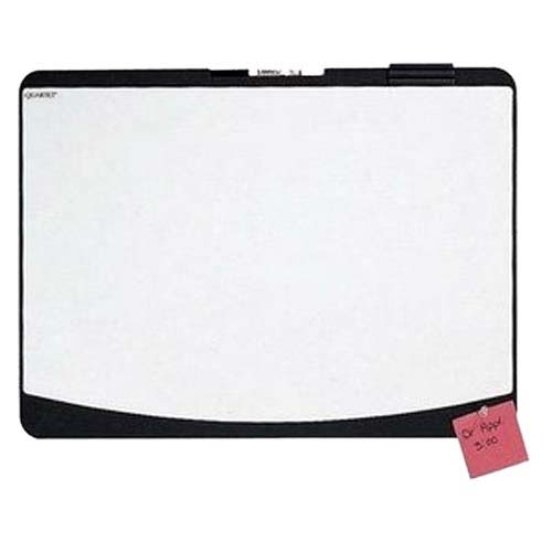 "Quartet Designer Tack and Write 23.5"" x 17.5"" Cubicle Board (QRT-06355BK)"