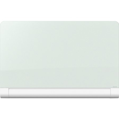 "Quartet Horizon 85"" x 48"" Magnetic Glass Dry-Erase Board with Concealed Tray (QRT-G8548HT), Quartet brand Image 1"