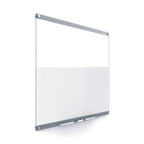 "Quartet Infinity 48"" x 36"" Customizable Magnetic Glass Dry-Erase Board (QRT-GI4836) Image 1"