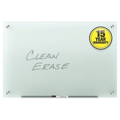 Quartet Infinity Glass Frosted Non-Magnetic Frameless Dry-Erase Boards (QRT-GF) Image 1
