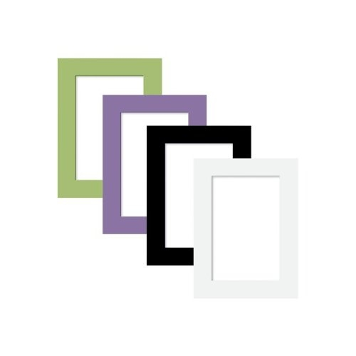 "Quartet 4"" x 6"" Magnetic Picture Frame (Assorted) - 6pk (79533-6pack) Image 1"